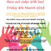 Sponsored Come Run, Walk, Push and Eat Cake with me