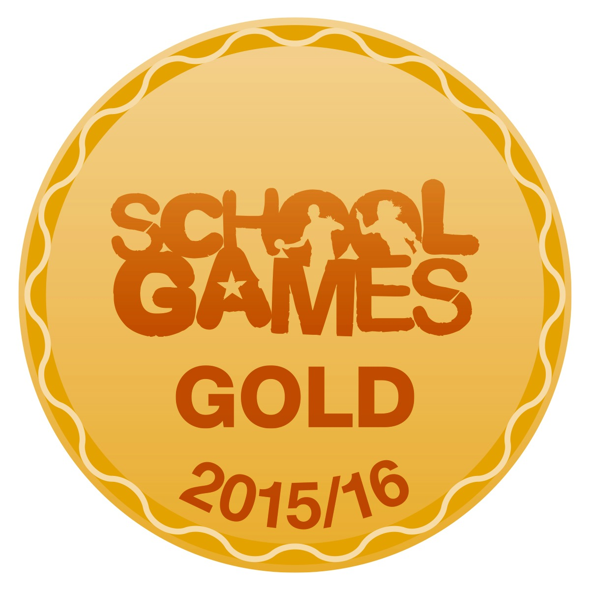 Image result for school games 2015/2016 gold
