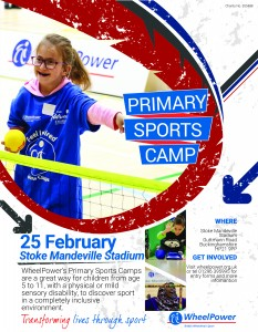 Poster Wheelpower SM Primary Camp Feb-17
